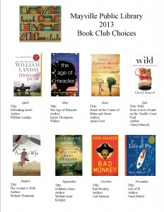 2013 book club choices jpeg