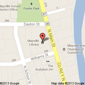 Map of Mayville
