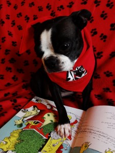 I will be at the library on Monday, Jan. 26 from 3:30 - 5 p.m. for kids to read to me