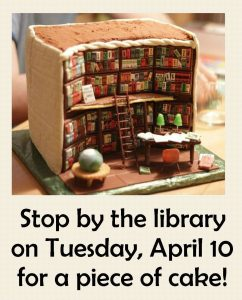 Join us for cake! @ Mayville Public Library