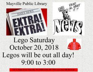 Lego Saturday @ Mayville Public Library