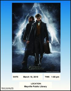 Movie Event @ Mayville Public Library