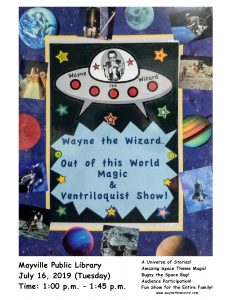 Wayne the Wizard - Magic Show @ Mayville Public Library