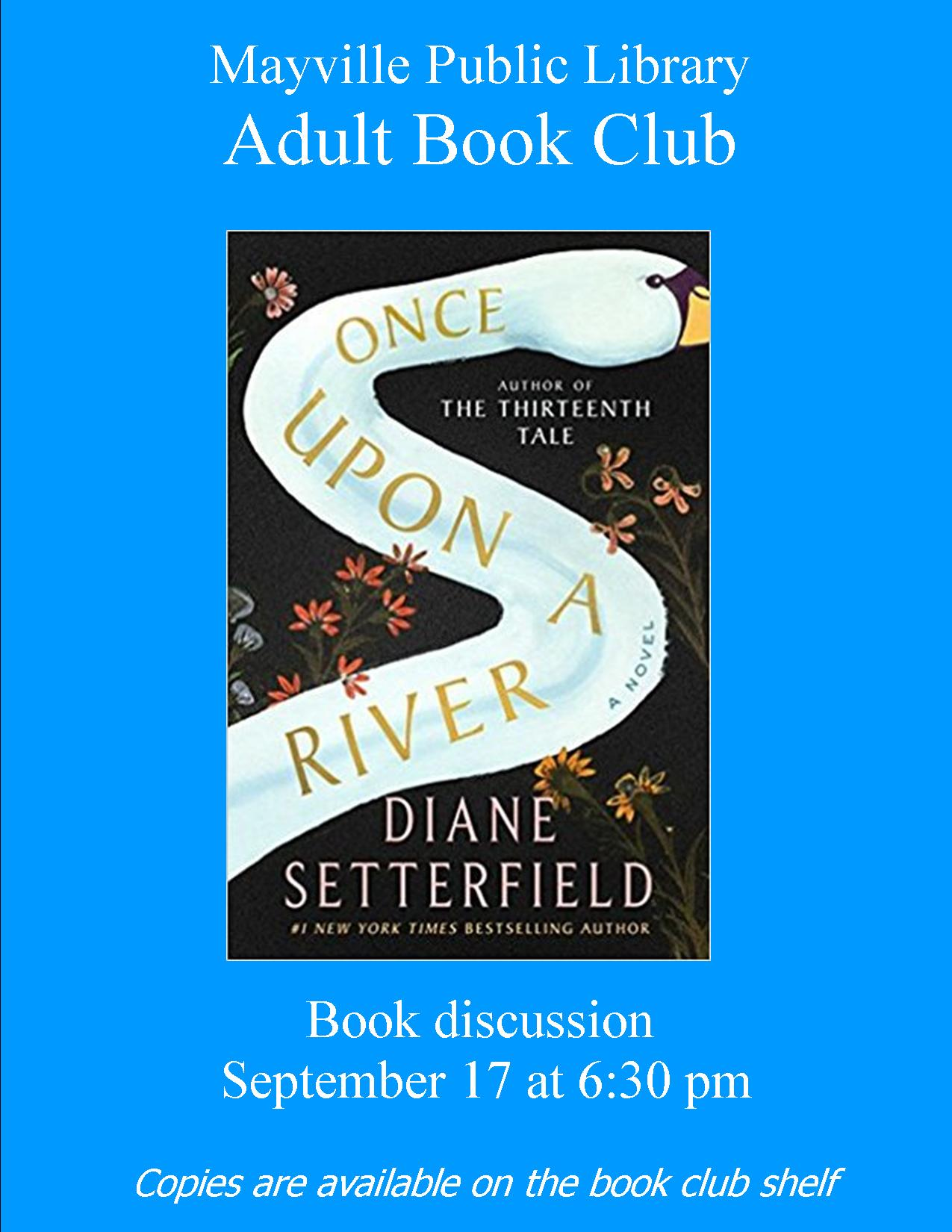Adult Book Club @ Mayville Public Library