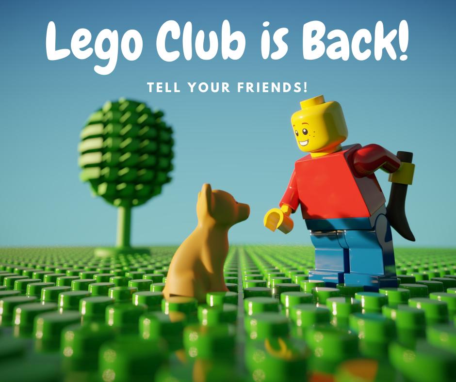 Lego Club Is Back!